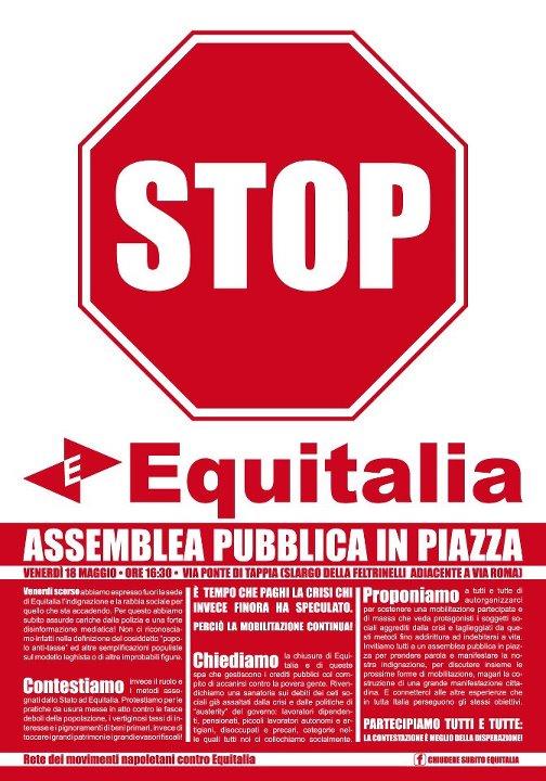 Assemblea contro Equitalia - 18/05/12