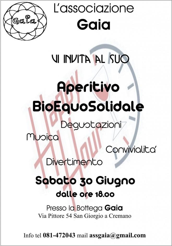 Aperitivo Bio-EquoSolidale @ Bott. Gaia