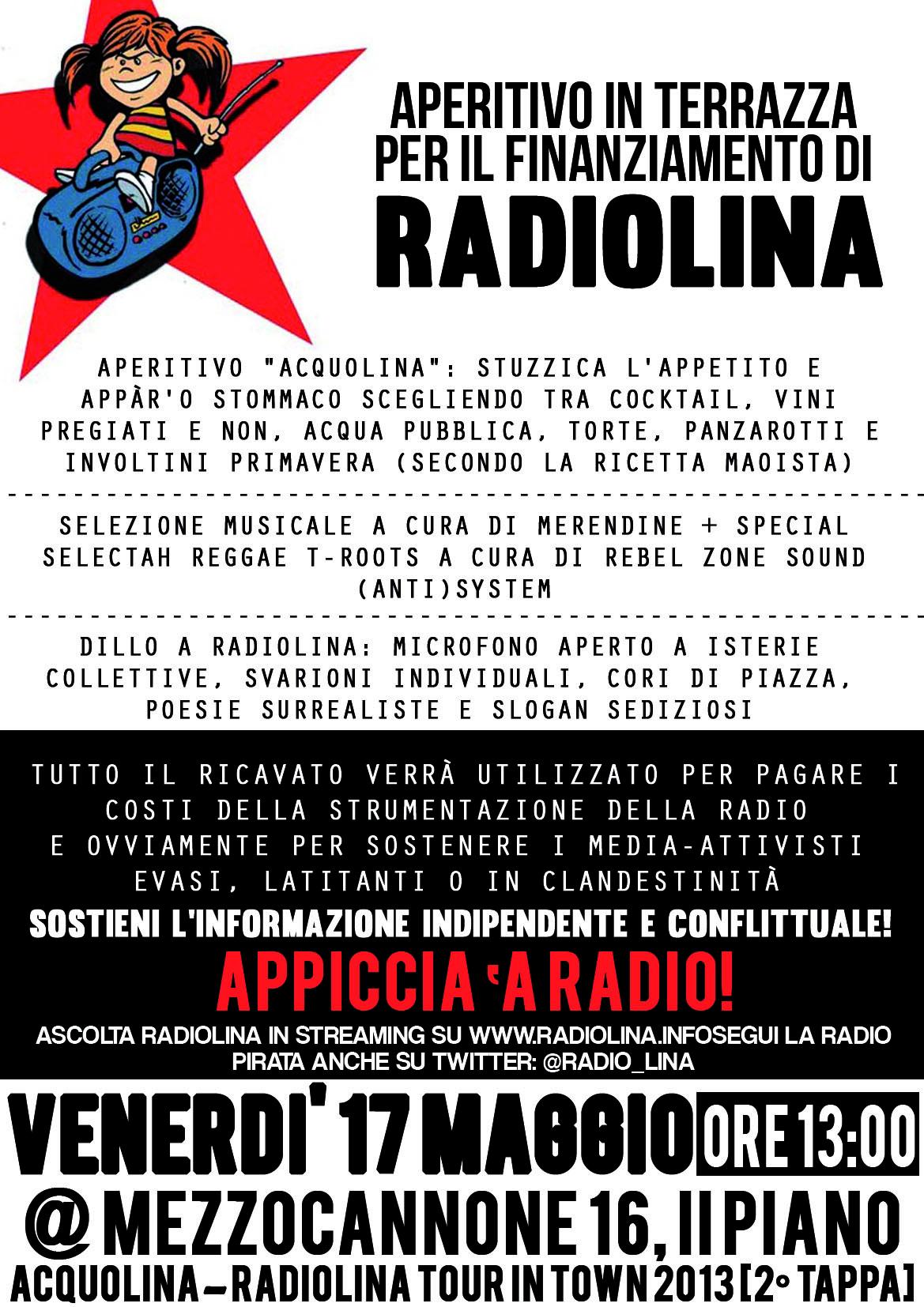 aperitivo radiolina 17-5-13